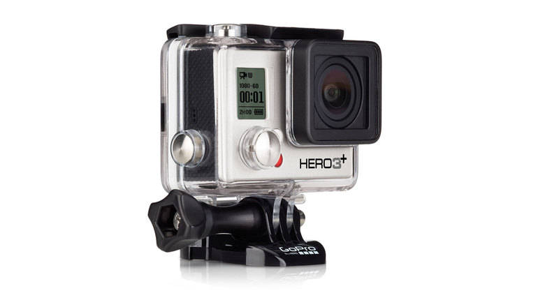 GoPro HD Hero 3+ Plus Silver Edition 4K Camera